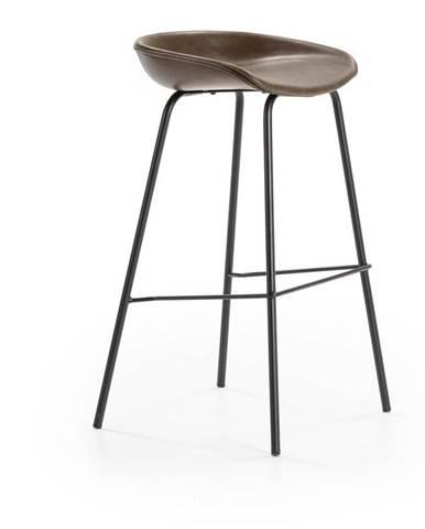 Hnedá barová stolička Marckeric Eddie