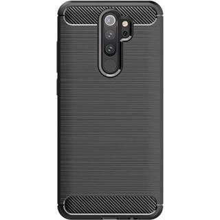 Kryt na mobil WG Carbon na Xiaomi Redmi 9 čierna