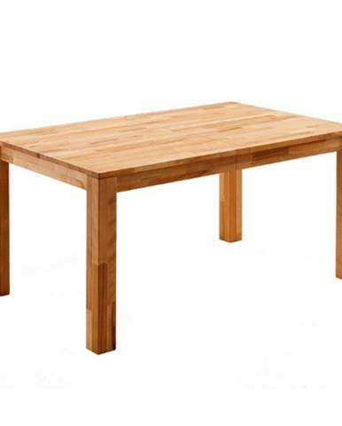 Jedálenský stôl PAUL dub divoký, 160 cm, rozkladací