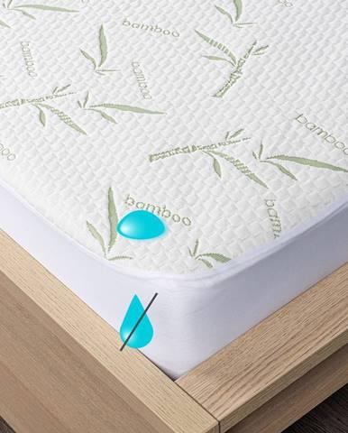 4home Bamboo Nepriepustný chránič matraca s lemom, 70 x 160 cm