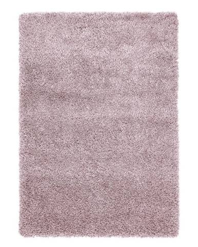 Koberec S Vysokým Vlasom Lambada 3, 120/170cm, Ružová