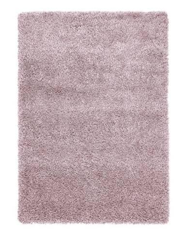 Koberec S Vysokým Vlasom Lambada 4, 160/230cm, Ružová