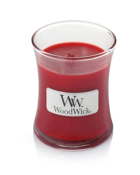 WoodWick Sviečka s vôňou granátových jabĺk WoodWick, doba horenia 20 hodín