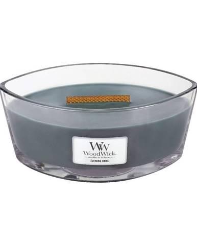 Vonná sviečka Woodwick Večerný ónyx, 30 hodín horenia