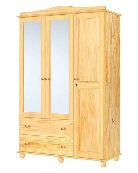 IDEA Nábytok Skriňa 3-dverová GRAND PRIX