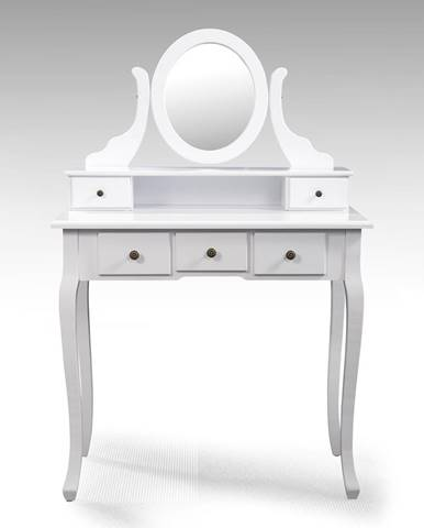 Toaletný stolík so zrkadlom STELLA