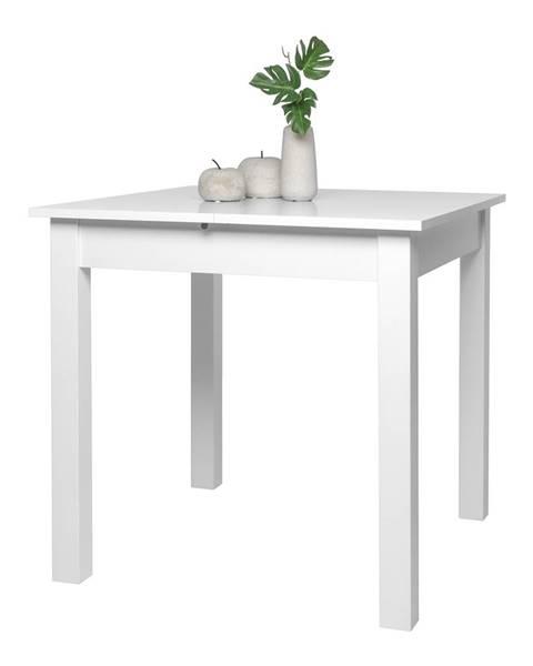 IDEA Nábytok Jedálenský stôl COBURG 80 biely