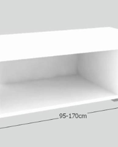 Tempo Kondela Konferenčný rozkladací stôl DRON biela