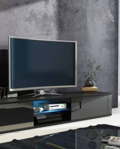 WIP TV stolík Hit čierna / čierny lesk