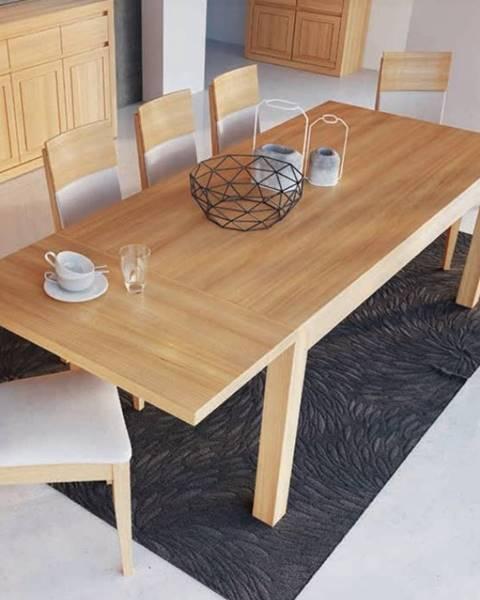 Drewmax Drewmax Jedálenský stôl - masív ST302 / S45cm - hrúbka 2