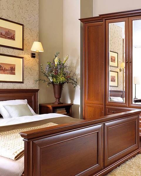 BRW BRW Manželská posteľ KENT ELOZ 160