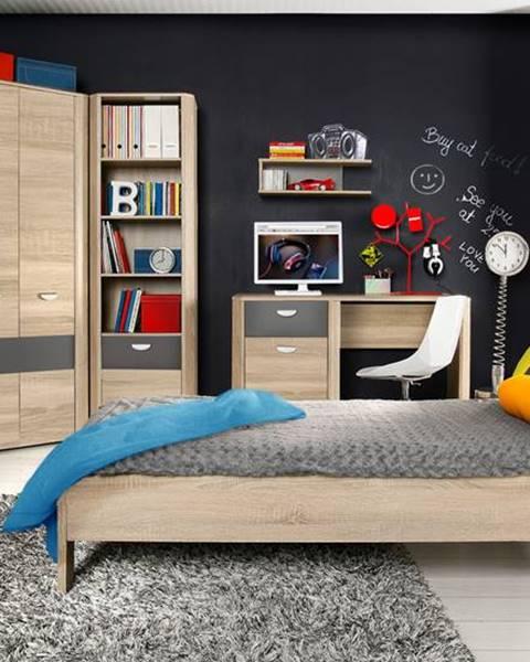 Forte Forte Jednolôžková posteľ Yoop YPL09