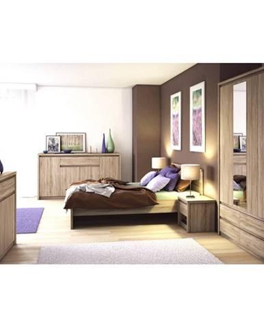Tempo Kondela Manželská posteľ NORTY TYP 8