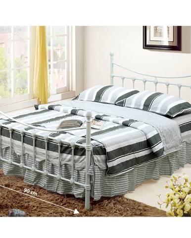 Tempo Kondela Kovová manželská posteľ NIEVES