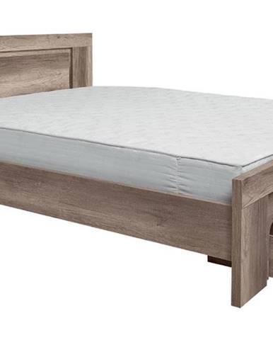 BRW Manželská posteľ Anticca LOZ/160