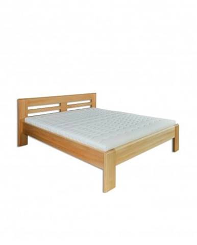 Manželská posteľ - masív LK111 | 160cm buk