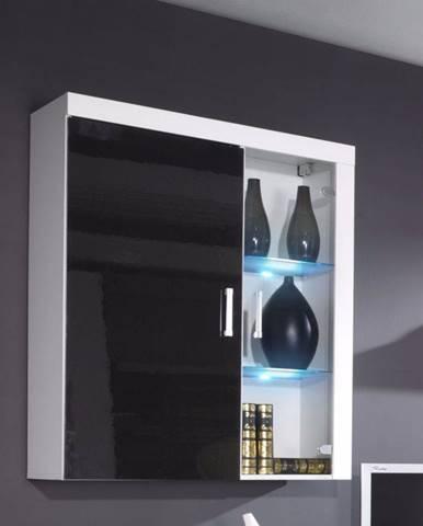 Artcam Visiaca vitrína SAMBA reg.4   biela-čierna