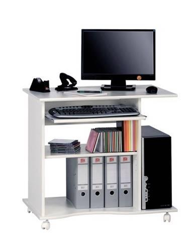 PC stôl CASH biela
