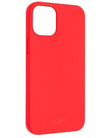 Kryt na mobil Fixed Story na Apple iPhone 12 mini červený