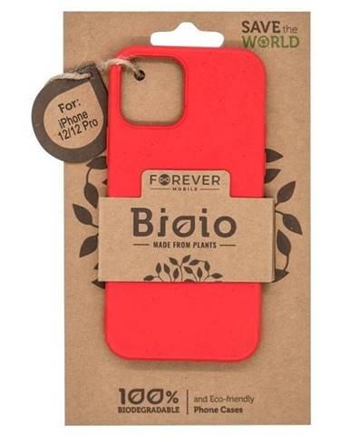 Kryt na mobil Forever Bioio na Apple iPhone 12/12 Pro červený