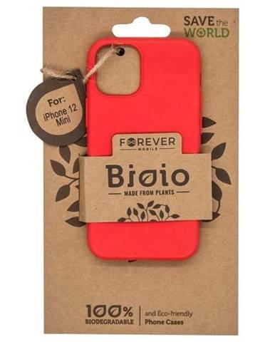 Kryt na mobil Forever Bioio na Apple iPhone 12 mini červený