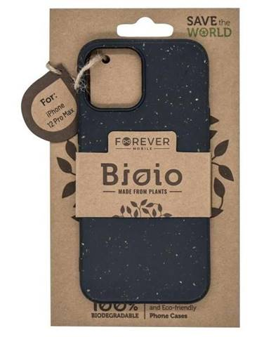 Kryt na mobil Forever Bioio na Apple iPhone 12 Pro Max čierny