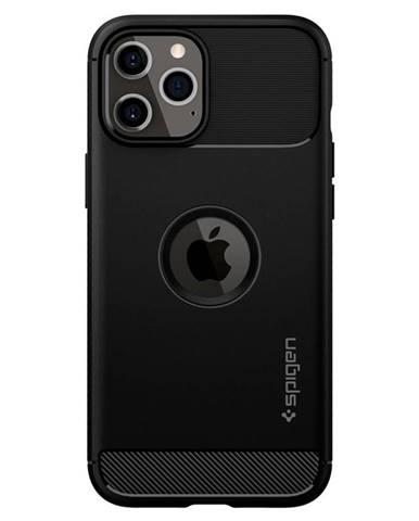 Kryt na mobil Spigen Rugged Armor na Apple iPhone 12 Pro Max čierny