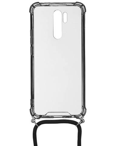 Kryt na mobil WG Crossbody na Xiaomi Redmi 9 priehľadná