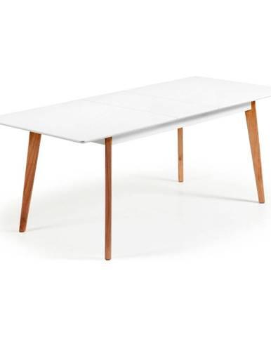 Rozkladací jedálenský stôl La Forma Meety, 160 x 90 cm