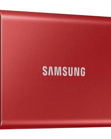 SSD externý Samsung T7 1TB červený