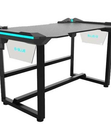 Herný stôl E-Blue 136,5 x 80,3 cm, podsvícený čierny
