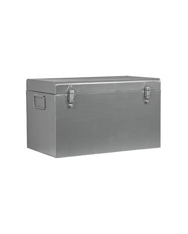 Kovový úložný box LABEL51, dĺžka 50 cm