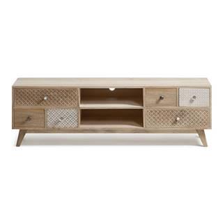 TV stolík z mangového dreva La Forma Hood