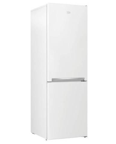 Kombinácia chladničky s mrazničkou Beko Rcna366k40wn biela
