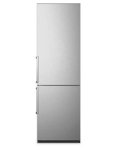 Kombinácia chladničky s mrazničkou Hisense Rb343d4dde strieborn