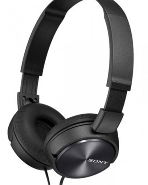 Sony Slúchadlá cez hlavu Sony MDR-ZX310APB, čierne