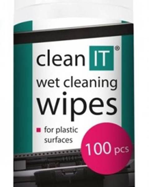 Clean IT Čistiace obrúsky na plasty CLEAN IT CL142, 100ks