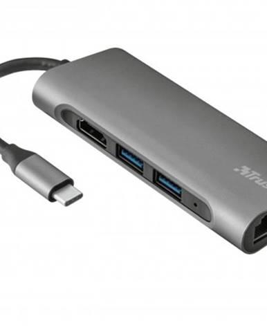 USB-C hub 7v1 Trust Dalyx Aluminium