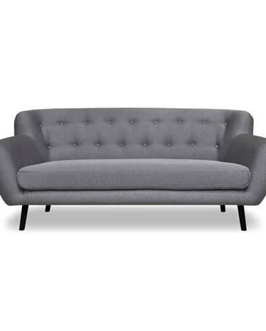 Sivá pohovka Cosmopolitan design Hampstead, 192 cm