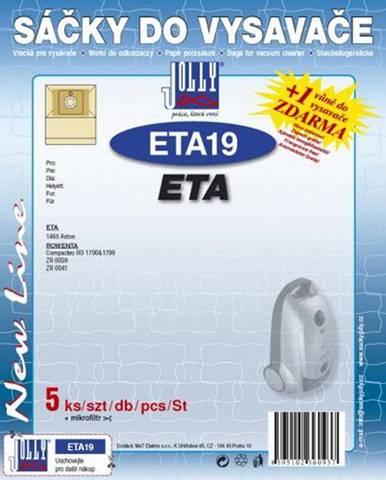 Sáčky pre vysávače Jolly ETA 19