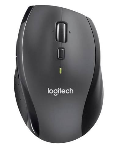 Myš  Logitech Wireless MoM705 Marathon čierna/sivá / laserová /