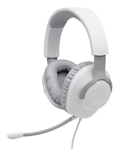 Headset  JBL Quantum 100 biely