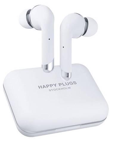 Slúchadlá Happy Plugs Air 1 Plus In-Ear biela
