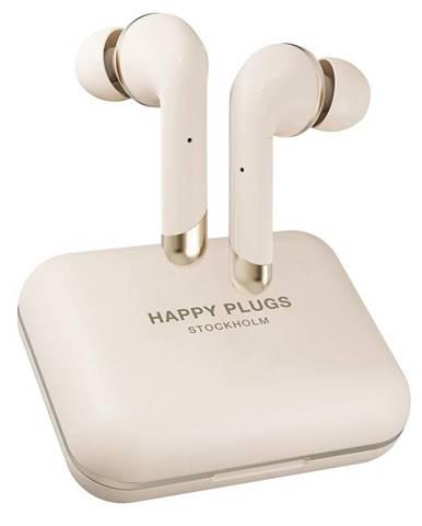 Slúchadlá Happy Plugs Air 1 Plus In-Ear zlat
