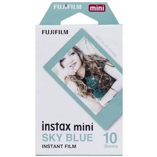 Instantný film Fujifilm Instax Mini Sky Blue Frame 10ks