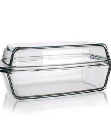 Simax Pekáč sklenený hranatý s vekom 5,4 l (3,20 / 2,20)