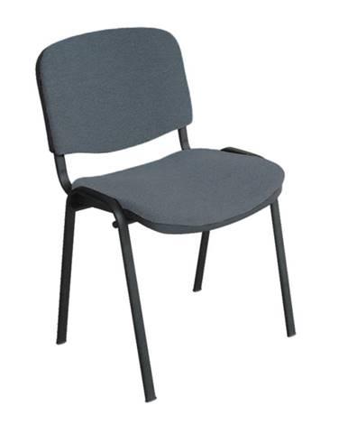 Kancelárska stolička sivá ISO NEW C26 poškodený tovar