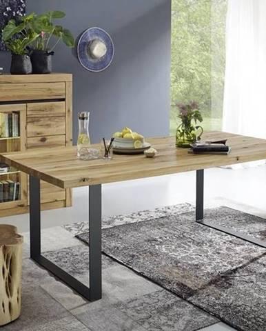 VEVEY Jedálenský stôl 180x90 cm, prírodná, dub