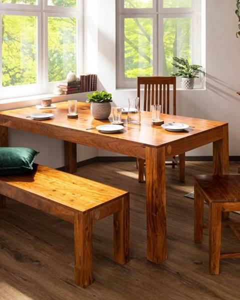 Bighome.sk CAMBRIDGE HONEY Jedálenský stôl 120x90 cm, akácia