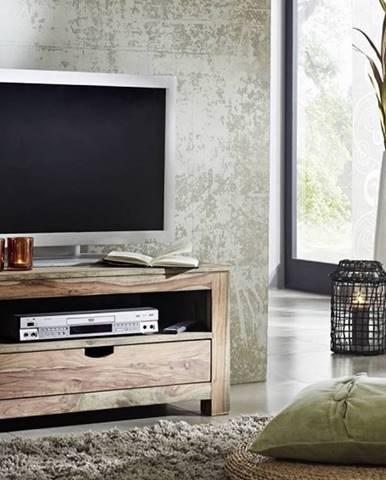 GREY WOOD TV stolík 87x45 cm, palisander